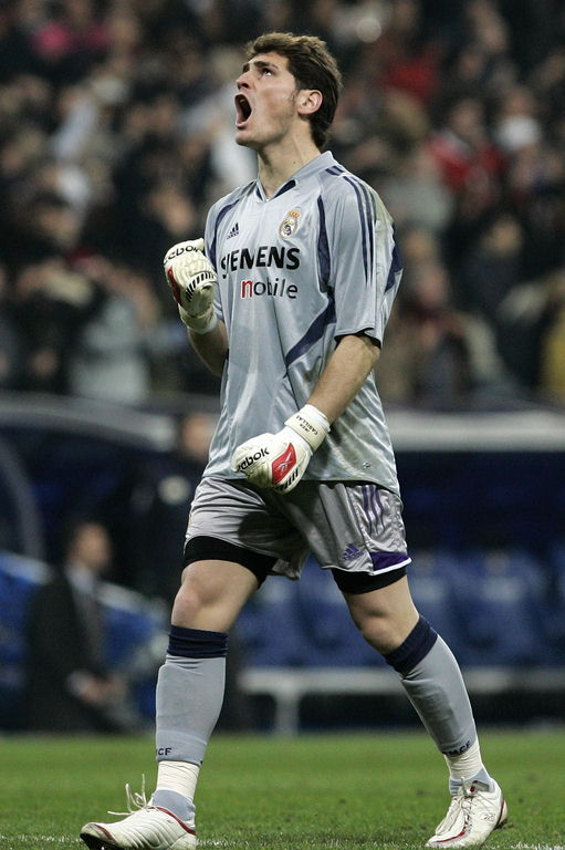 Iker Casillas saver